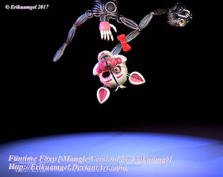 Funtime Foxy  Version  [ Mangle ]  . - Extras - . by Erikuamgel
