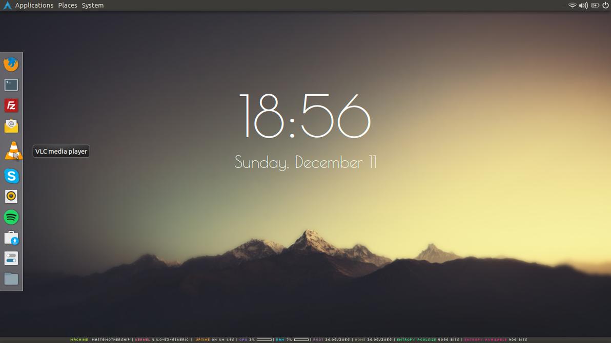 December Desktop by b0tnet
