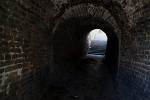 Scary Tunnel [Stock] by IvaxXx
