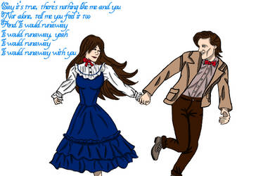 runaway (11th doctor and Anne) by annemarijk