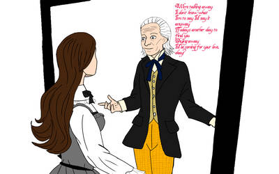 take on me (1st doctor and Anne) by annemarijk