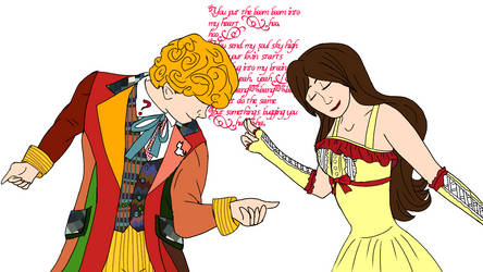 Wake me up before you go go (6th doctor and Anne) by annemarijk