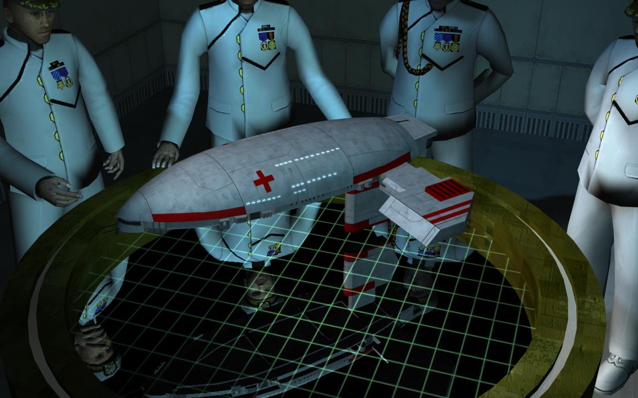 USNC Medical ship Briefing by chakotay02