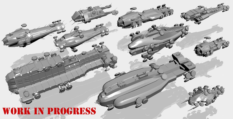 Matrix hovercrafts WiP by chakotay02 on DeviantArt