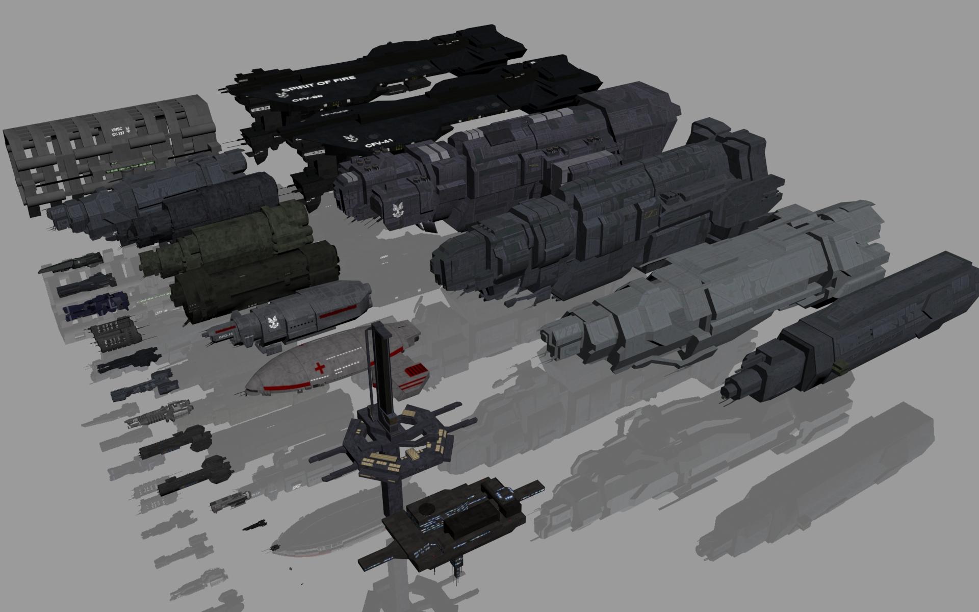 Unsc Ships By Chakotay02 On Deviantart