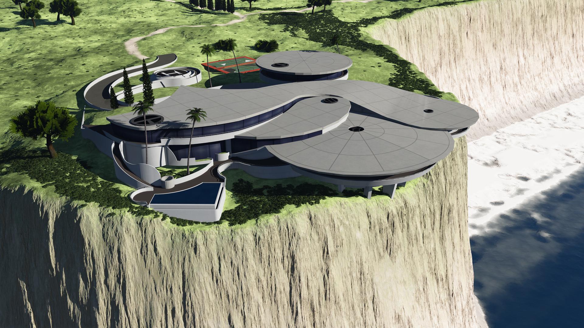 Tony Stark Mansion By Chakotay02 On Deviantart