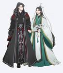 Scum Villain: Luo Binghe x Shen Qingqiu by FALLEN-BEELZEBUB