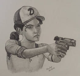 Clementine from The Walking Dead Game (SEASON 3)