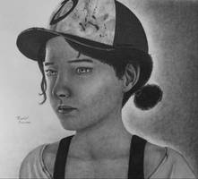 The Walking Dead Game Season 3 Clementine Drawing