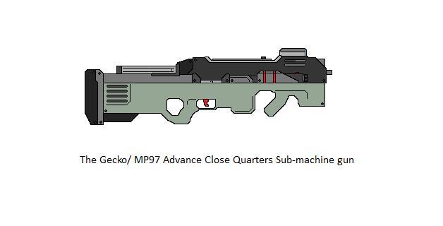 The Gecko Sub-machine gun by MPG619 on DeviantArt