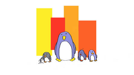 Comical Penguins
