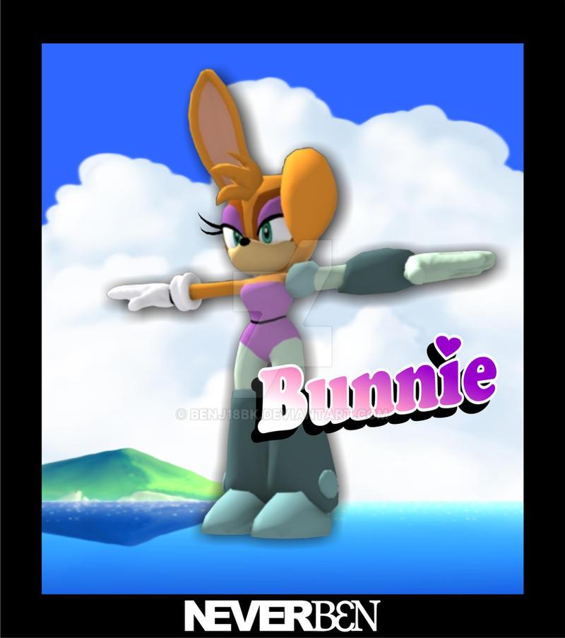 3D Bunnie Rabbot by Benj18BK