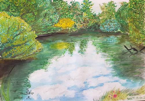 Landscape technique mix