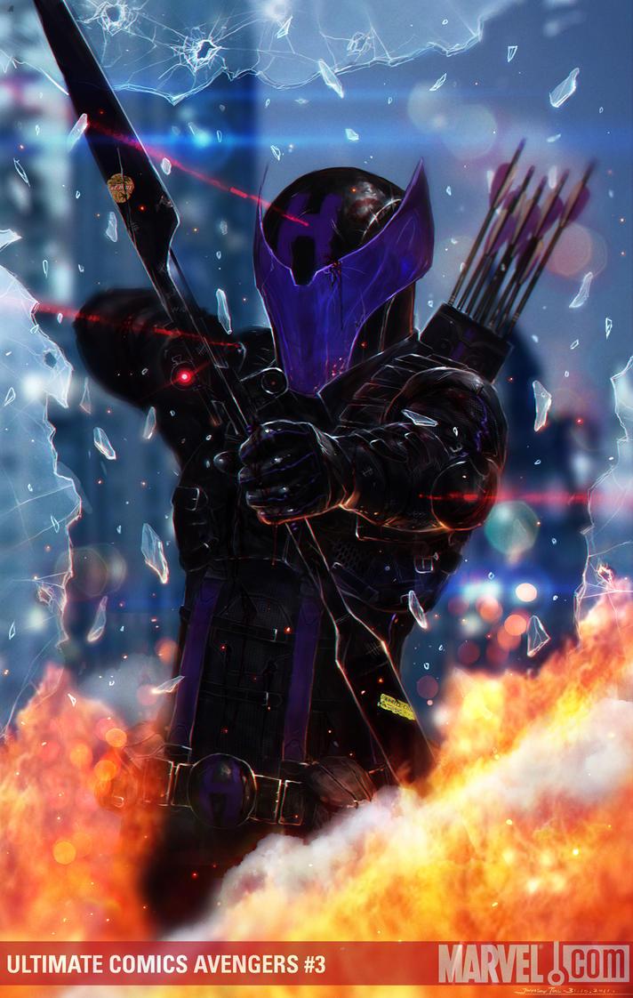 Hawkeye by johnsonting