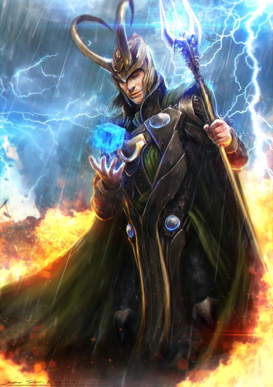 Loki - Avengers by johnsonting