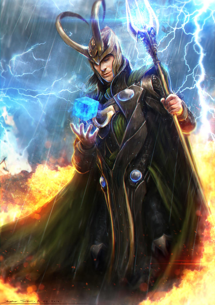 Loki - Avengers by johnsonting