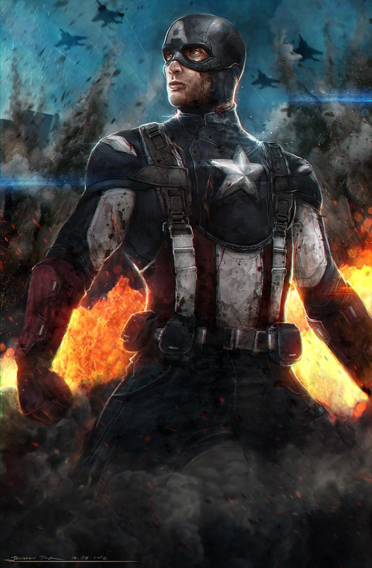 Captain America - Avengers by johnsonting