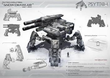 Snow Crawler by johnsonting
