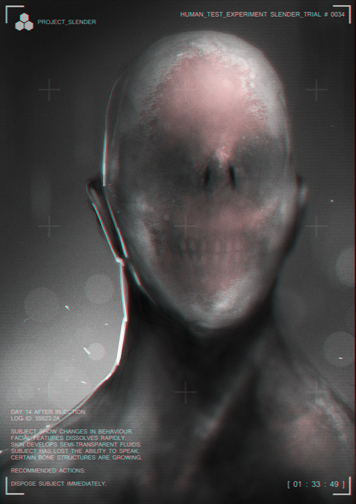 Slender by johnsonting