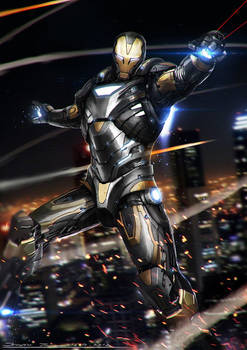 Ironman - Black and Gold