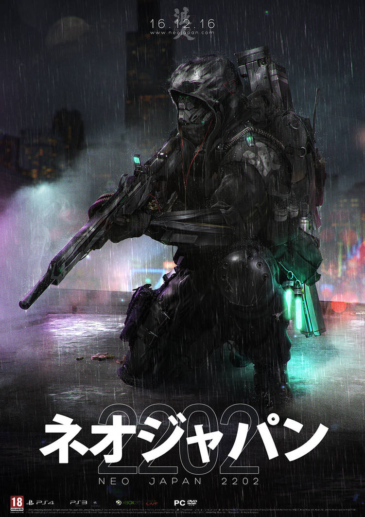 NEO JAPAN 2202 - RONIN KOKUSHIBYO by johnsonting on DeviantArt