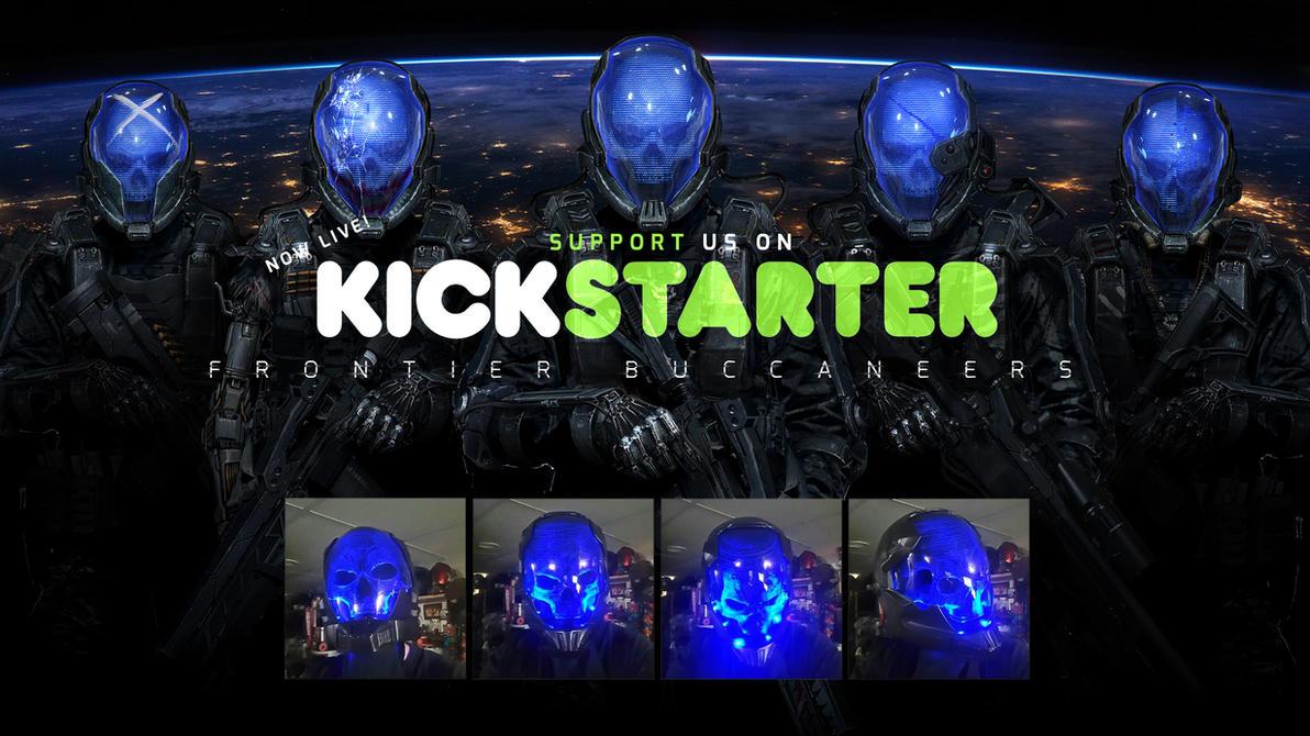 Frontier Buccaneers 3D Props Kickstarter Campaign! by johnsonting