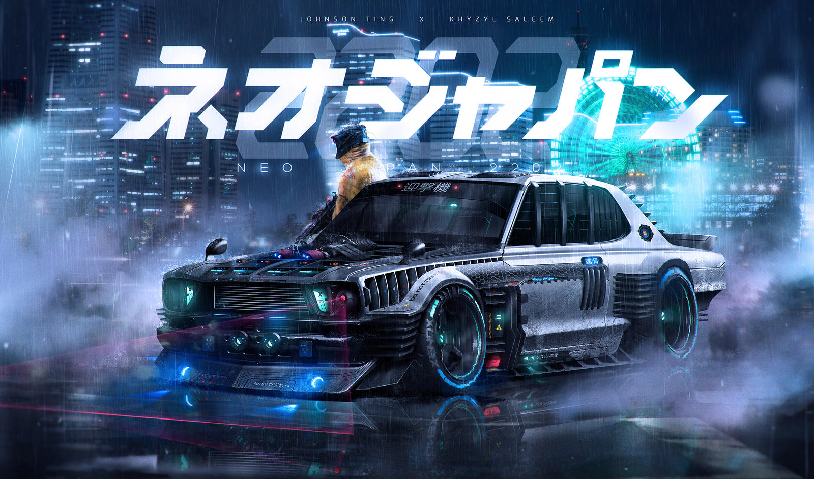 Neo Japan 2202 X Khyzyl Saleem The Interceptor By