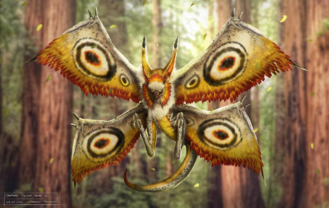 Mothbat by johnsonting