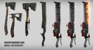 Weapon rendering demo