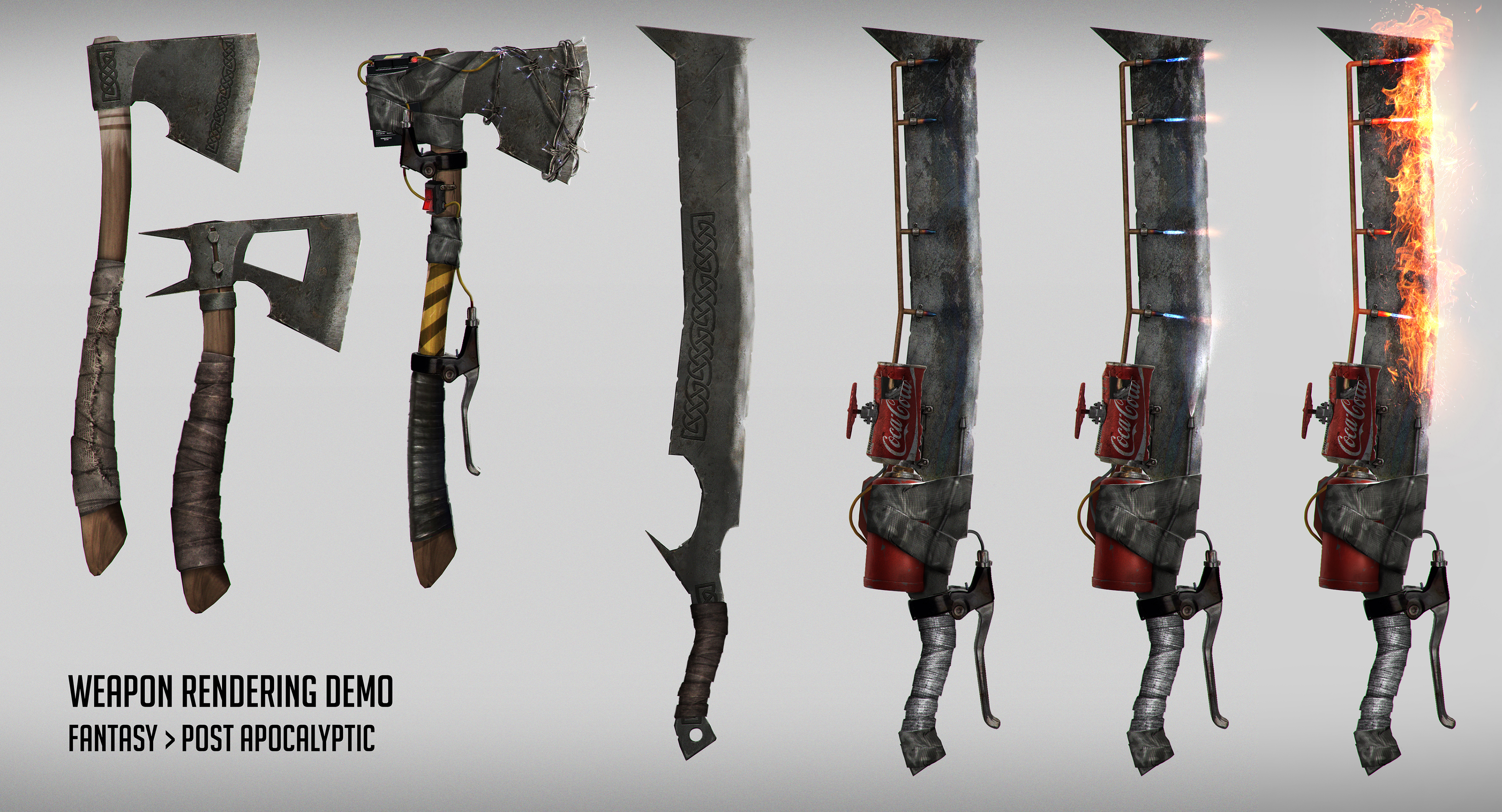 Weapon rendering demo by johnsonting