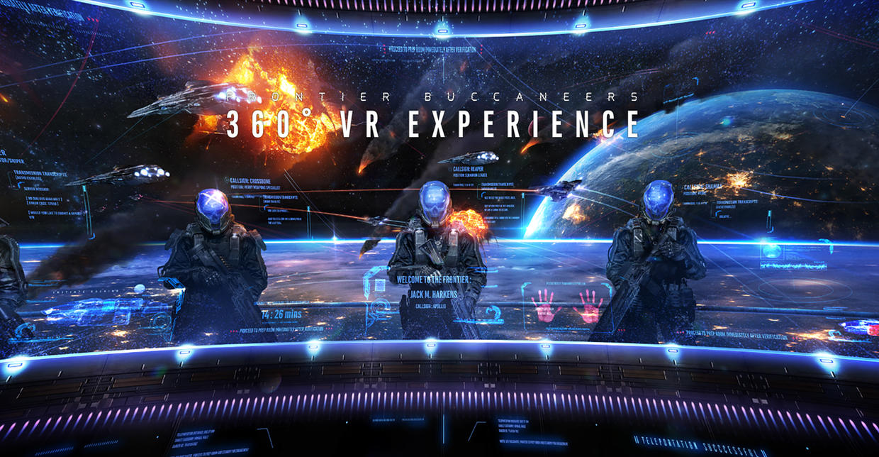 Frontier Buccaneers - 360 VR Experience by johnsonting