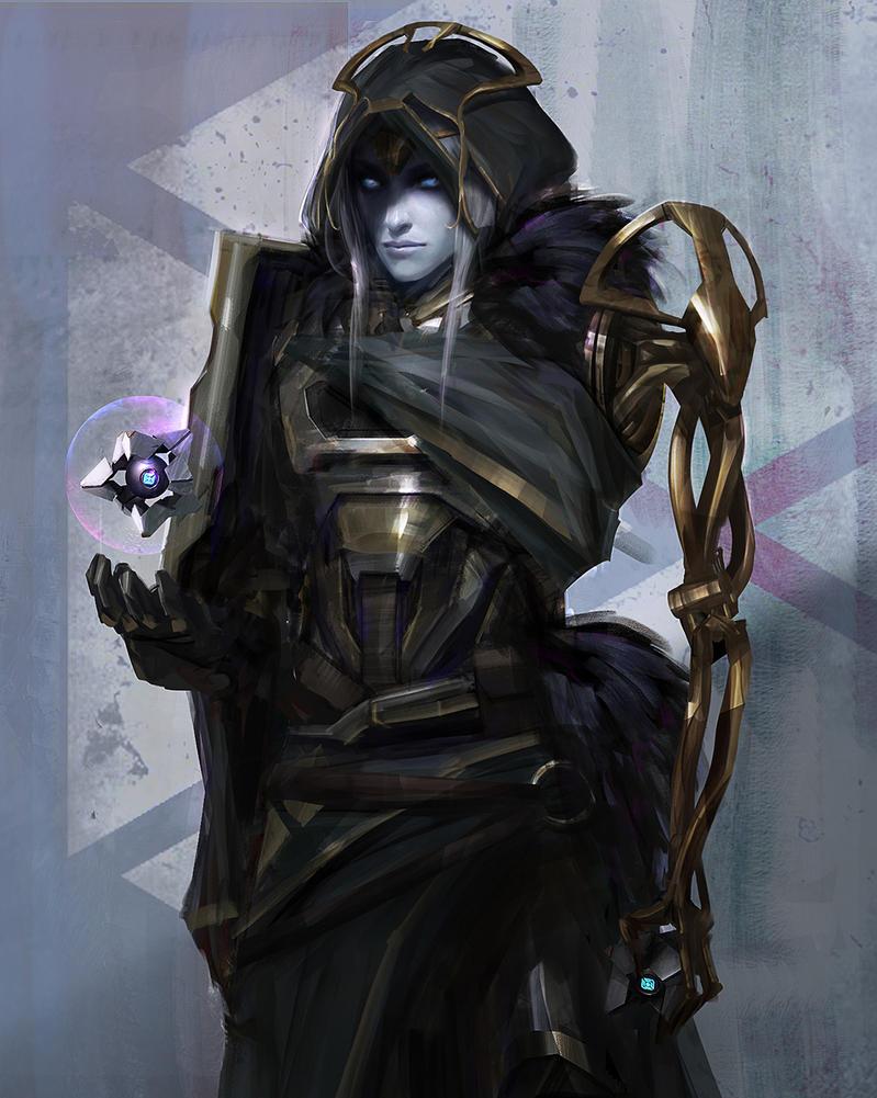 Mara Sov - Queen of Titans by johnsonting