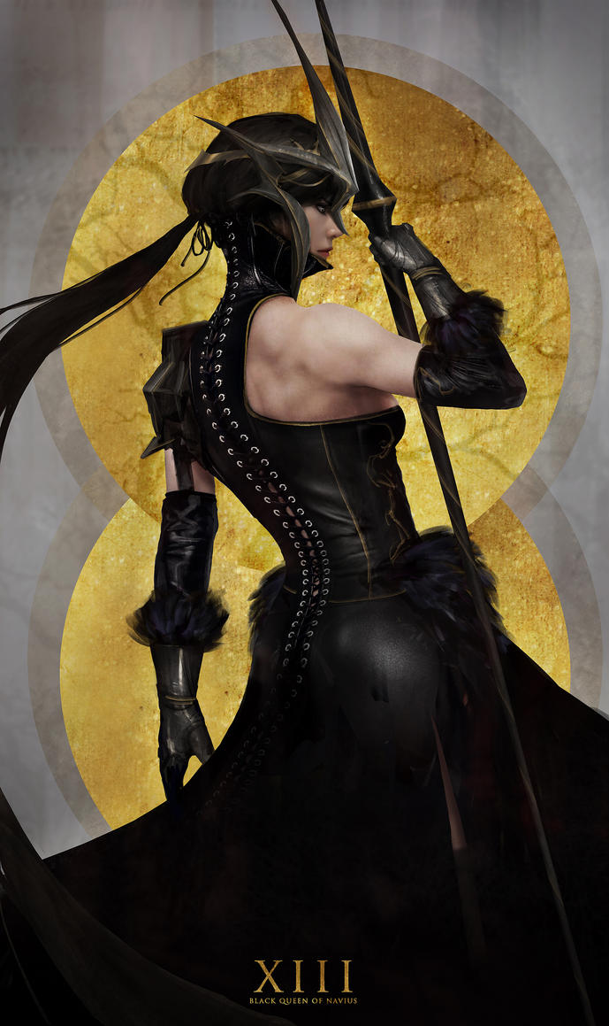 The Black Queen by johnsonting