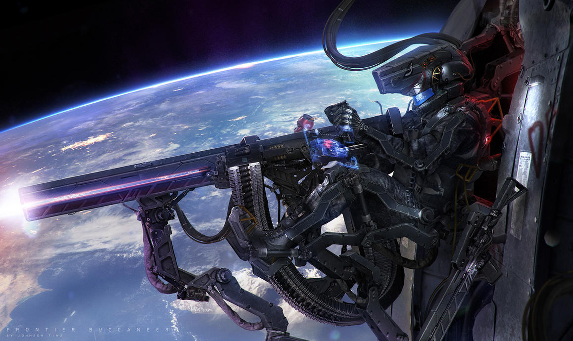Frontier Buccaneers - Orbital Hunt by johnsonting