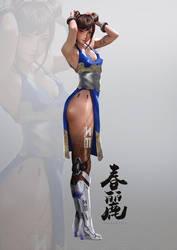 Mechanical Legs Chun Li