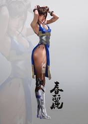 Mechanical Legs Chun Li by johnsonting