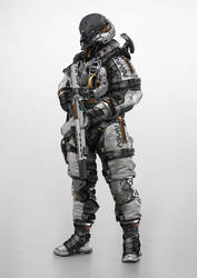 Combat Astronaut