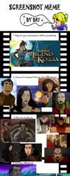 Legend of Korra - Screenshot Meme UPDATE by superhorse1999