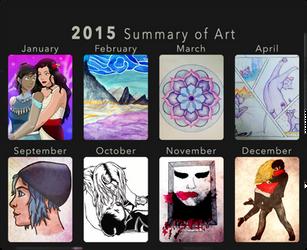 2015 Art Summary by superhorse1999