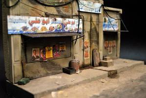 Iraqi Street Diorama by hazrinphixel