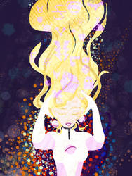 Saturn Girl by ResidentialPsycho