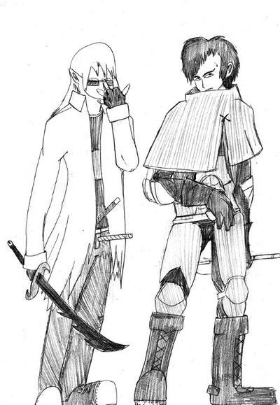 Darken - Komiyan and Casper by legomaestro