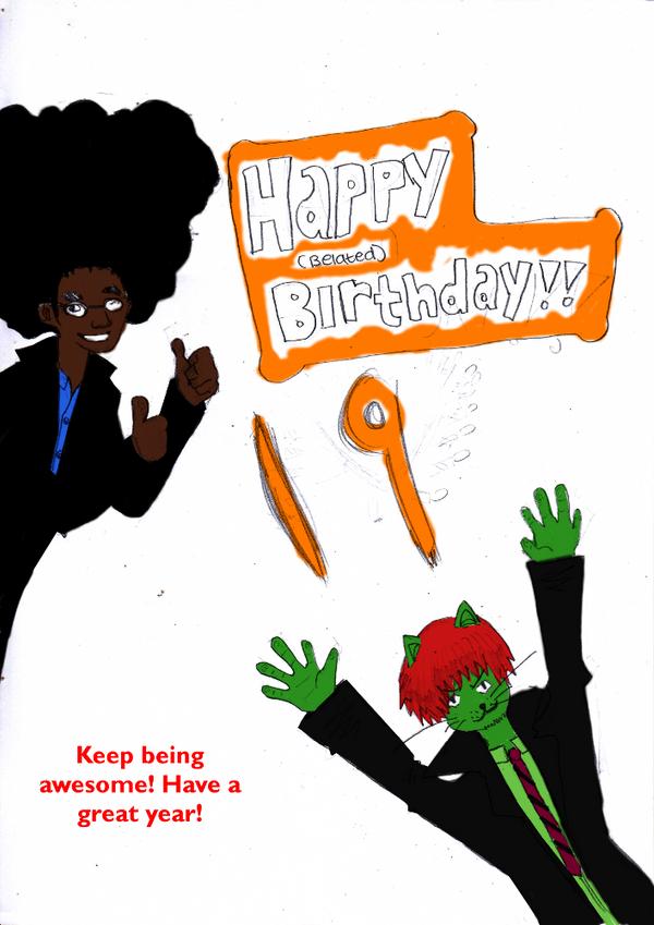 Happy Birthday Free by legomaestro
