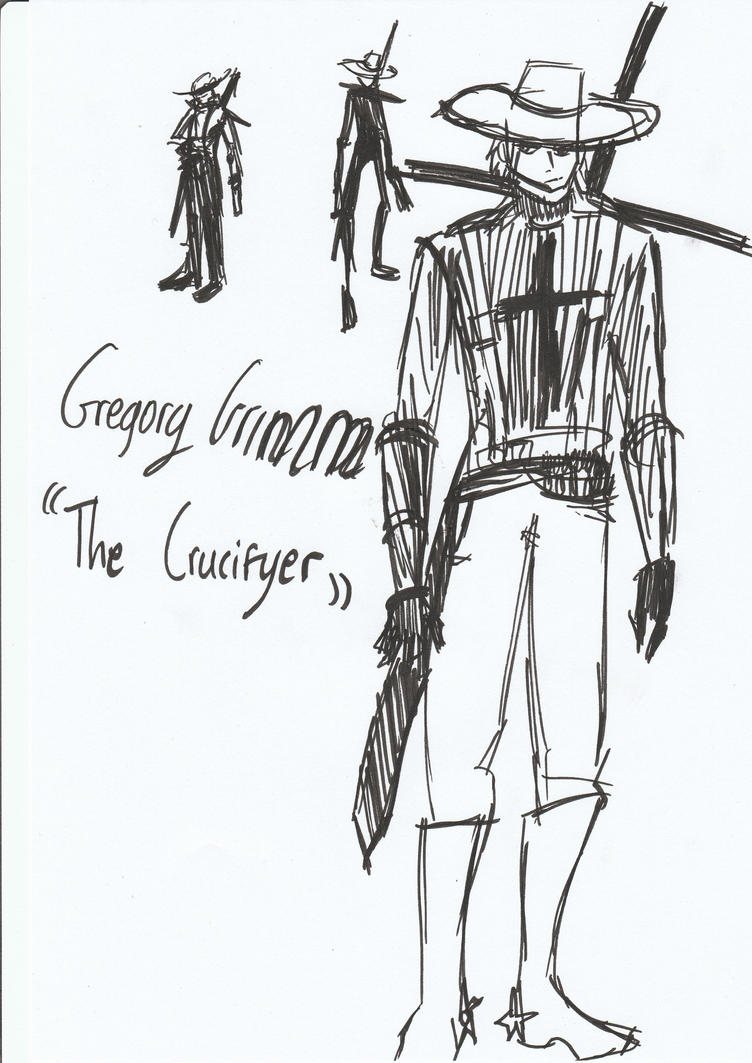 Gregory Grimm The Crucifier by legomaestro