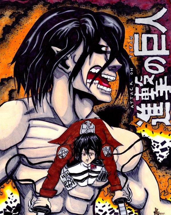 Attack on Titan by ZombieKaiju