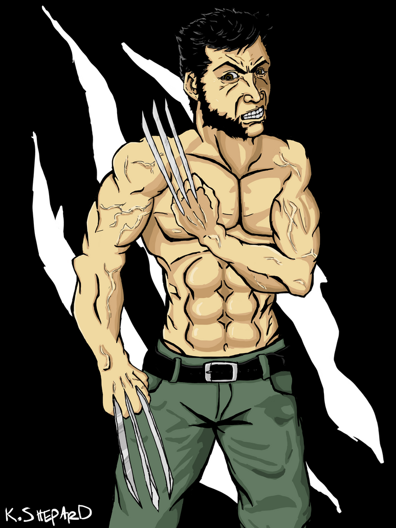 Wolverine is cool by Axxerous