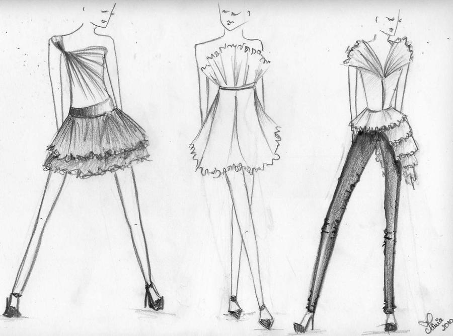 Fashion Sketches By ElefantAromatica On DeviantArt