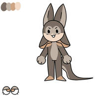 kangaroo based bunkit adopt by MckenaTheFurry