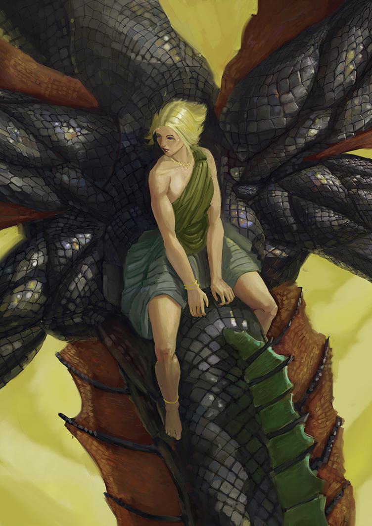 Daenerys Targaryen by Nizidranamitz