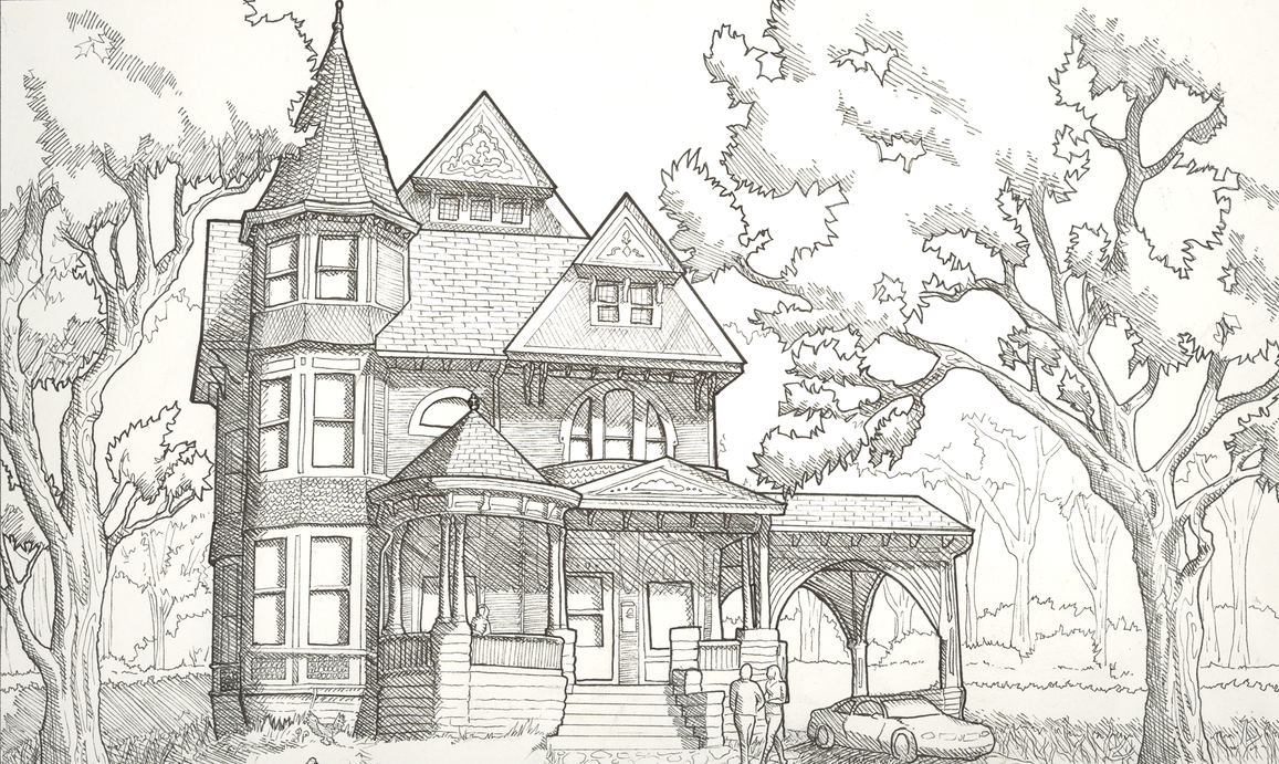 Victorian house by raikita on deviantart for Pre drawn house plans